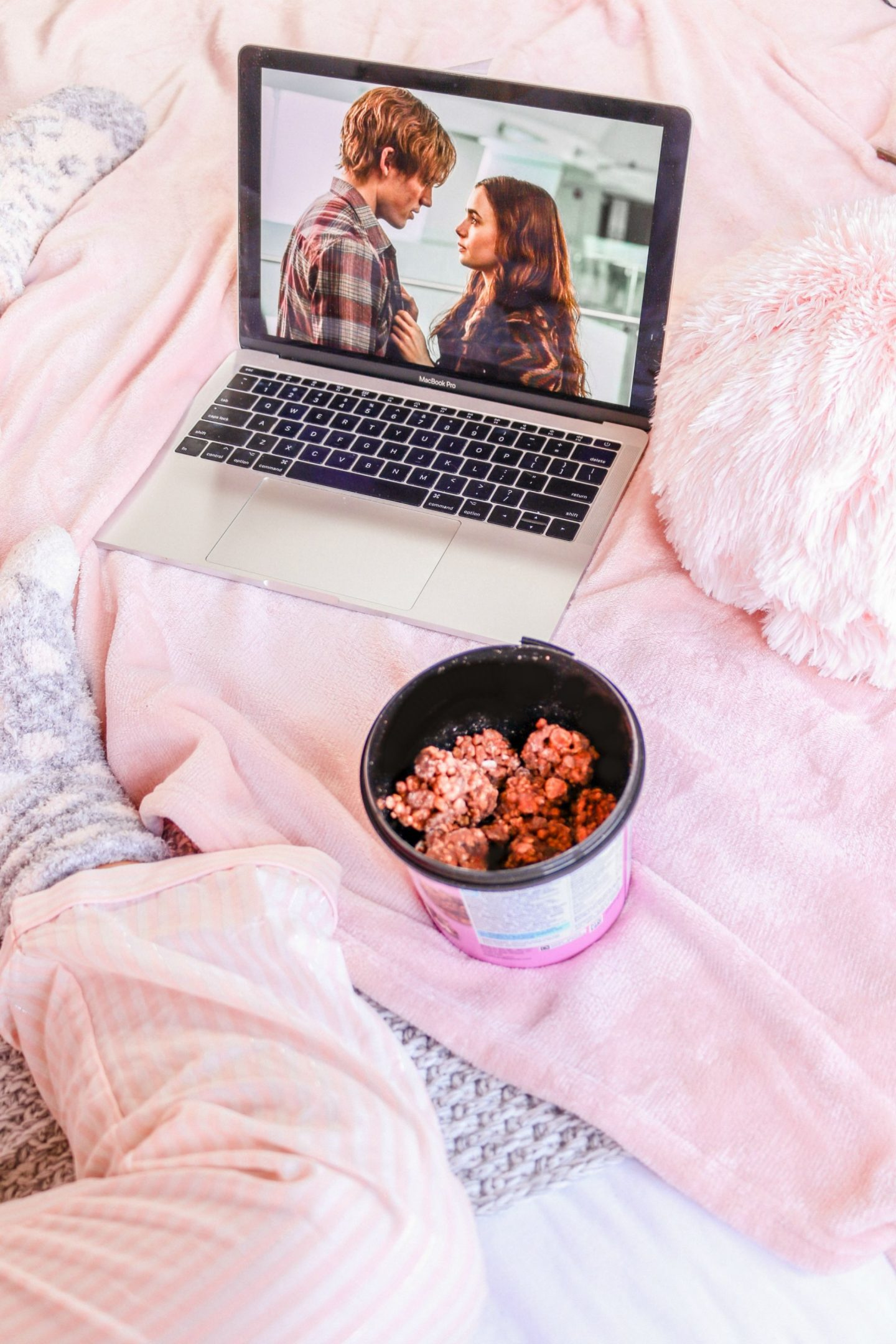 flatlay, things to watch on TV, love rosie, netflix, things to watch on netflix