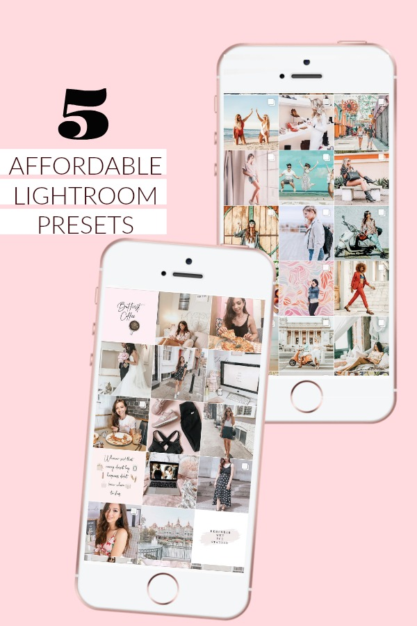 5 affordable lightroom presets, where to get affordable lightroom presets, lightroom presets, free lightroom presets, pink lightroom presets, pastel lightroom presets, dizzybrunette3, how to use lightroom presets, pretty lightroom presets, instagram editing, how i edit my instagram photos, how to improve your instagram