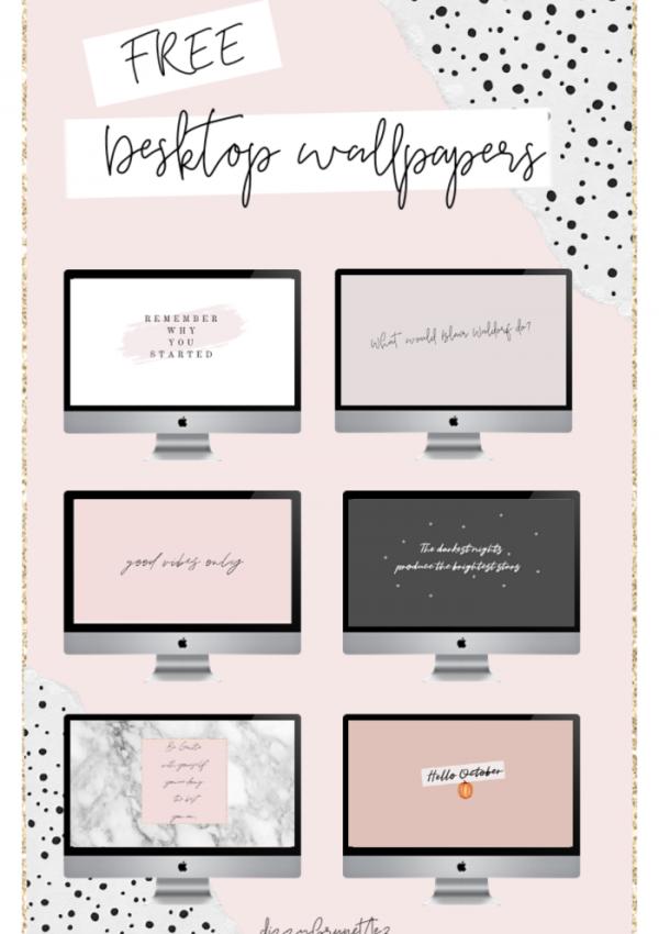 Free Pretty Desktop Wallpapers – August 2019