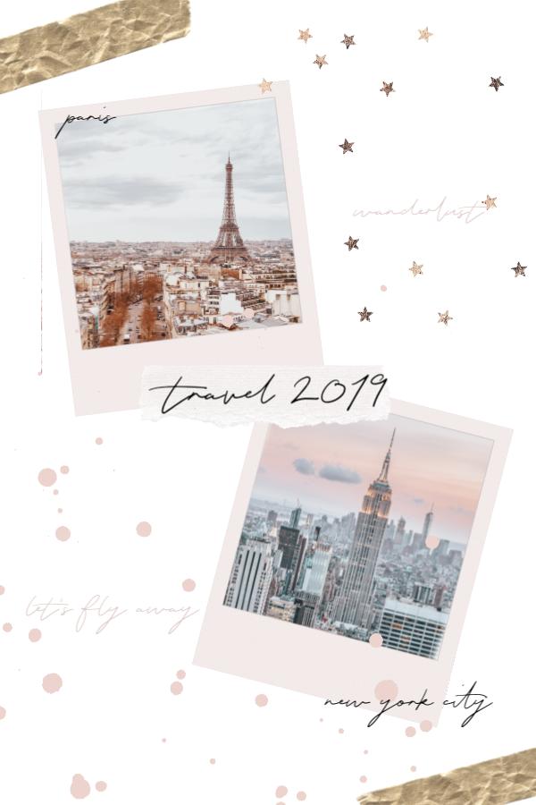 Travel, travel bucket list, Paris, NYC