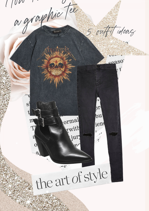5 Ways To Style A Graphic Tee