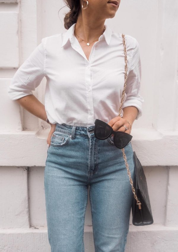 How To Look Chic On A Budget : The Perfect White Shirt