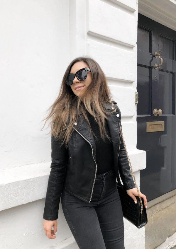 All black outfit, street style, autumn fashion