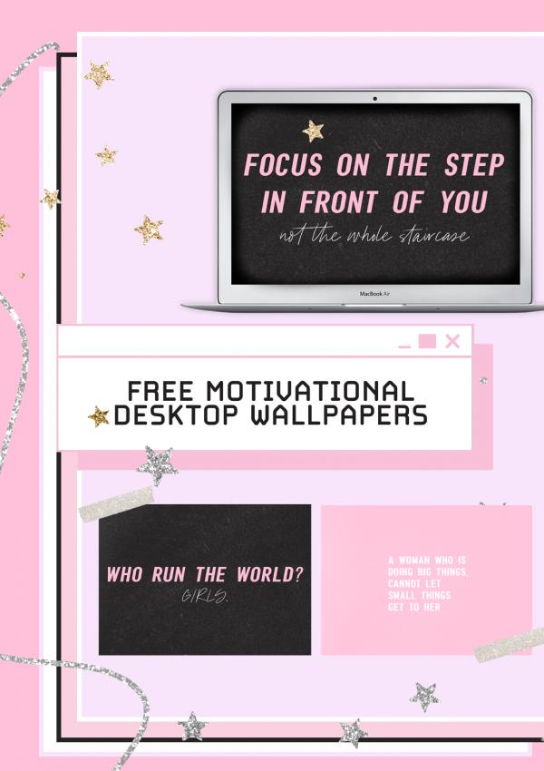 Free Motivational Desktop Wallpapers March 2020