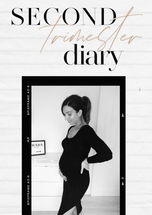 Pregnancy Diary : My Second Trimester